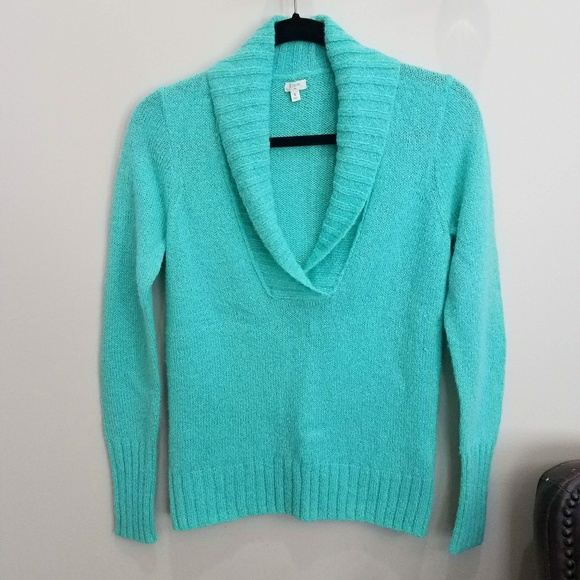 J crew factory wool mohair light sweater